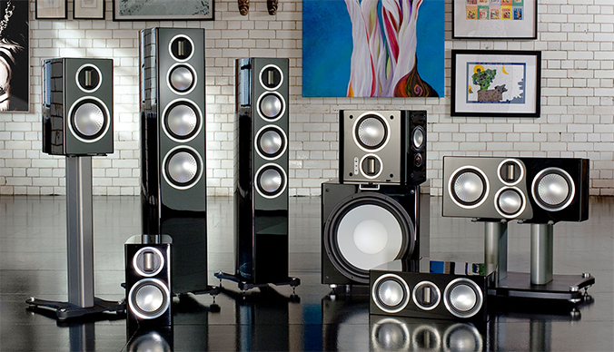 Monitor Audio Gold Series Speakers